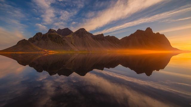 Iceland Landscape, Vestrahorn