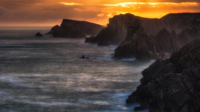 Cantabria, costa Quebrada