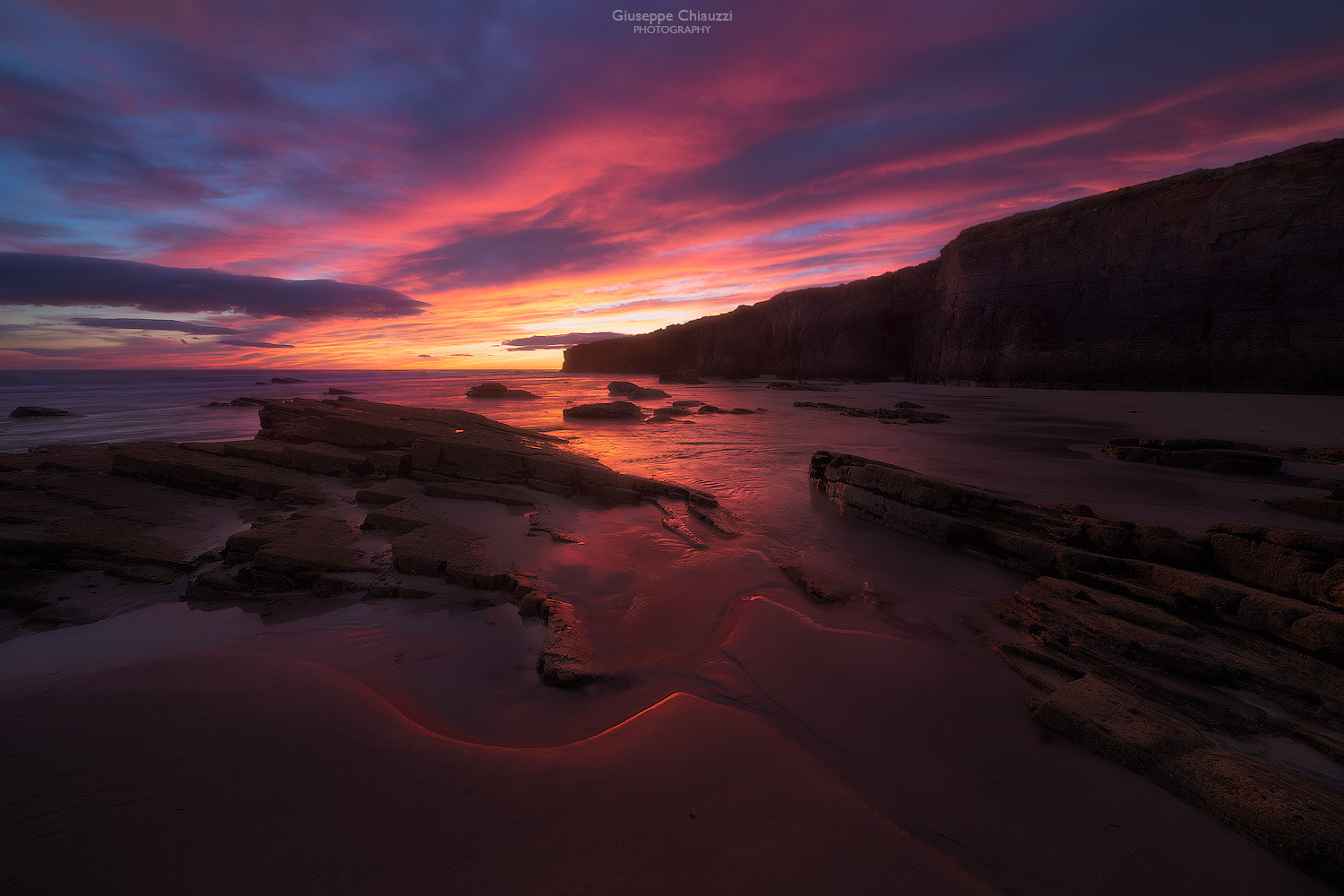 When the first light warms the catedrales